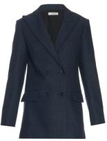 Nina Ricci Double-breasted silk jacket