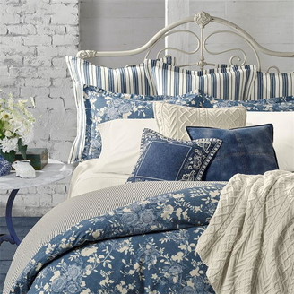 Ralph Lauren Indigo Cottage Duvet Cover