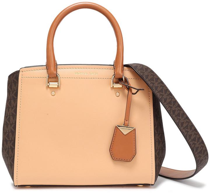 MICHAEL Michael Kors Benning Leather Shoulder Bag