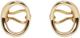 Charlotte Chesnais Gold Naho Ear Cuffs
