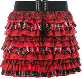 Faith Connexion ruffle mini skirt
