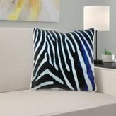 Moose Zebra Animal Print Pillow Cover East Urban Home