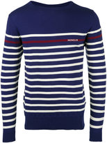 Moncler striped long sleeve jumper - men - Cotton - S