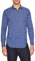Luca Roda Dotted Print Sportshirt
