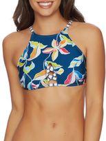 Splendid Floral-Printed Bikini Top