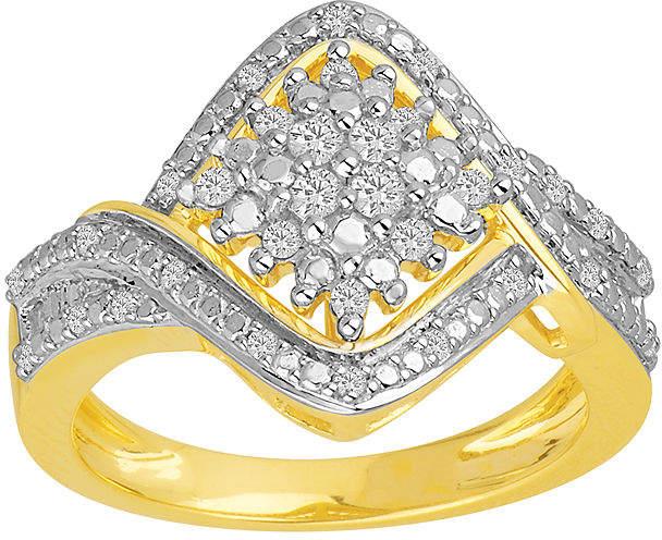 FINE JEWELRY ? CT. T.W. Diamond Cluster Ring