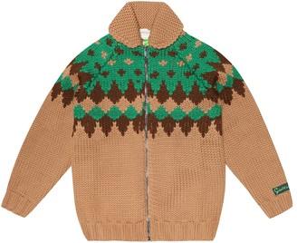 Gucci Kids Wool cardigan