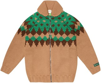 Gucci Kids Wool cardigan