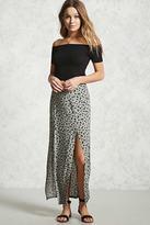 Forever 21 Floral M-Slit Maxi Skirt