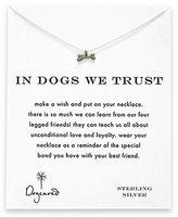 Dogeared Dog Bone Charm Necklace