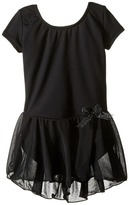 Capezio Short Sleeve Nylon Dress (Toddler/Little Kids/Big Kids)