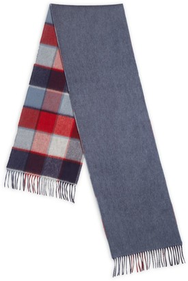 Saks Fifth Avenue Double-Faced Merino Wool & Cashmere Scarf