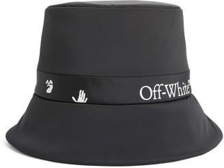 Off-White Logo Print Rain Cap