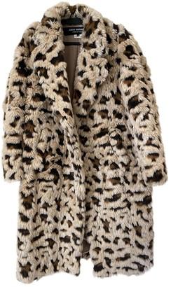 Junya Watanabe Beige Faux fur Coat for Women