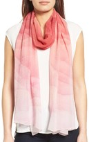 Nordstrom Women's Prismatic Color Play Oblong Silk Scarf