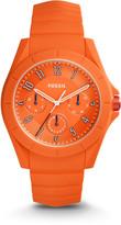 Fossil Poptastic Sport Multifunction Orange Silicone Watch