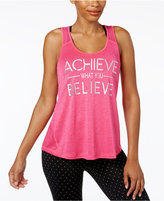 Ideology Achieve Graphic Racerback Tank Top, Only at Macy's