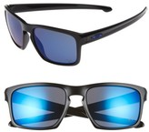 Oakley Men's Sliver Ice 57Mm Sunglasses - Black