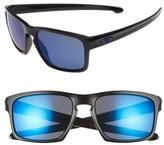 Oakley Men's Sliver Ice 57Mm Sunglasses - Black