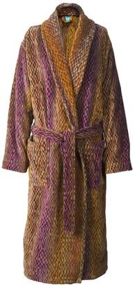 Elaiva Amber Night Sky Collar Bath Robe