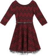 Speechless Floral Fit & Flare Dress, Big Girls (7-16)