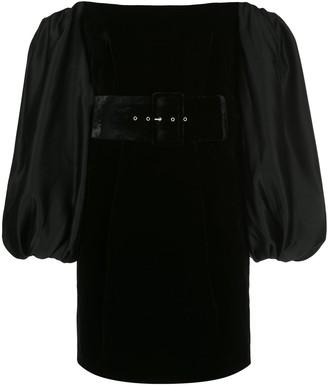 Rasario Off-The-Shoulder Velvet Dress