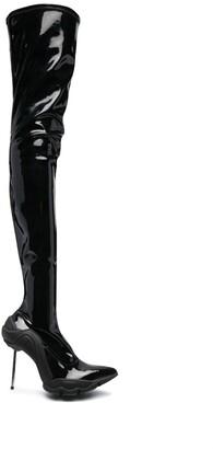 Rombaut Dysmorphia thigh-high boots