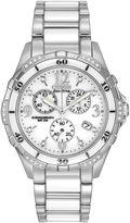 Citizen Womens White Ceramic Diamond-Accent Watch FB1230-50A