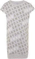 DKNY Girls Cotton Fleece Dress