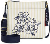 Tommy Hilfiger Classic Floral Canvas Small Crossbody