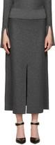 Calvin Klein Collection Grey Wool Hova Skirt