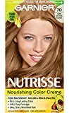 Garnier Nutrisse Nourishing Color Creme, 70 Dark Natural Blonde (Almond Creme) (Packaging May Vary)