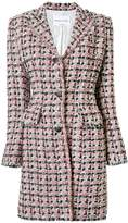 Sonia Rykiel tweed single breasted coat