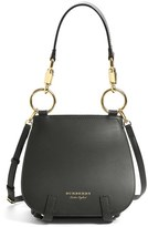 Burberry Bridle Grainy Leather Satchel - Black