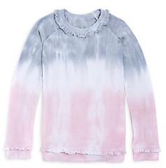 Chaser Girls' Tie Dye Ruffle Top - Big Kid
