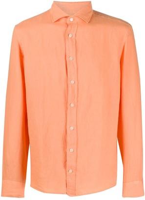 Hackett Plain Linen Shirt