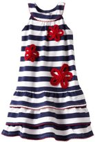Hartstrings Girls 2-6x Toddler Ruffle Flower Dress