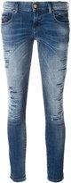 Diesel Grupee cropped skinny jeans