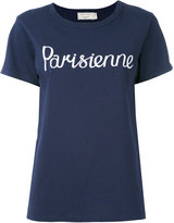 MAISON KITSUNÉ Parisienne T-shirt - women - Cotton - M