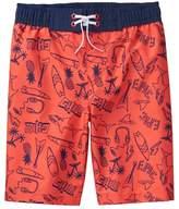 Crazy 8 Doodle Swim Trunks