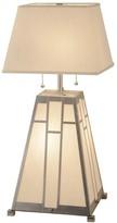 3.1 Phillip Lim Double Bar Mission Buffet Lamp Meyda Tiffany