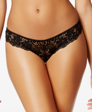 DKNY Classic Lace Sheer Thong Underwear DK5008