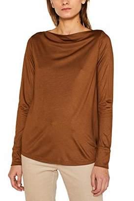 Esprit Women's 109eo1k009 Long Sleeve Top,Large