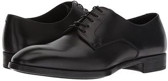 Giorgio Armani Plain Toe Oxford (Black) Men's Shoes