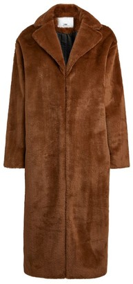 Camilla And Marc Jonah Longline Teddy Coat