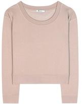Alexander Wang Cotton-blend Jersey Sweater