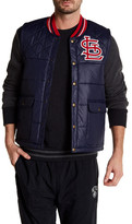 Mitchell & Ness MLB Cardinal Snap Button Vest