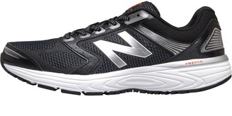 New Balance Mens M560 V7 Neutral Running Shoes Black/White