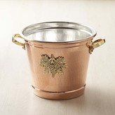Williams-Sonoma Williams Sonoma Ruffoni Historia Hammered Copper Round Wine Bucket