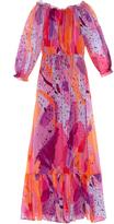 Diane von Furstenberg Camilla maxi dress